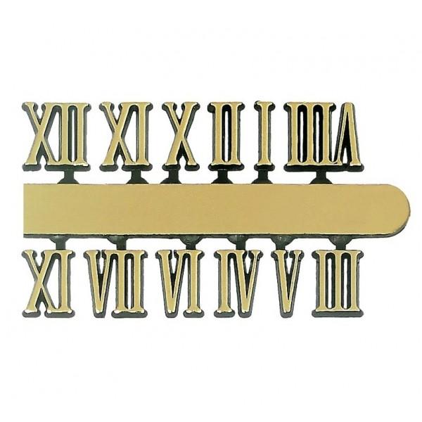 10 Jogos de números Romanos G (14mm) - Cores Diversas