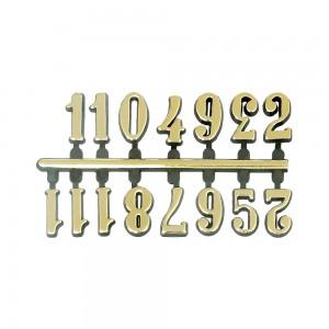 10 Jogos de números Arábicos G (14mm) - Cores Diversas