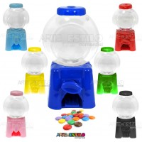 06 Baleiros Candy Machine para personalizar - Só R$2,59 cada !!!