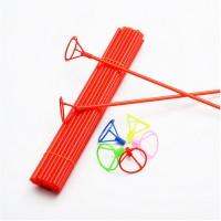 Varetas Pega Balão de mão com p/ balão emb com 5 unidades - Escolha a cor