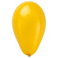 Balão / Bexiga 9 polegadas Happy Day Liso Emb. c/ 30 unid. - Amarelo