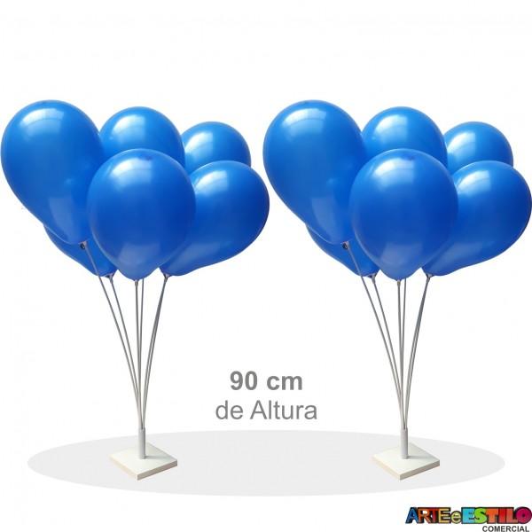 02 Suportes base de mesa para Balões com 6 varetas - Só R$19,90 cada