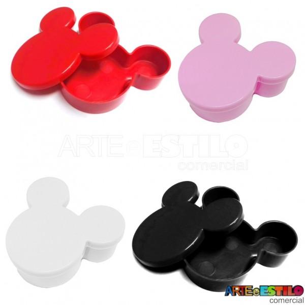 Caixinha Plastica Orelhinha - Emb. com 10 - R$0,79 cada unidade