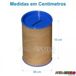 Liquidação - 10 Cofrinhos Lilas para personalizar - Só R$0,49 cada