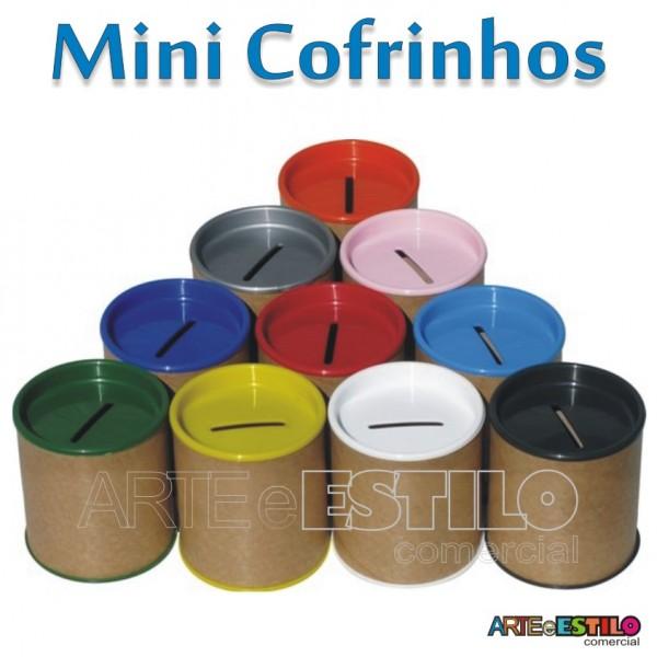 10 Mini Cofrinhos 6 x 7 cm para personalizar - Só R$0,69 cada