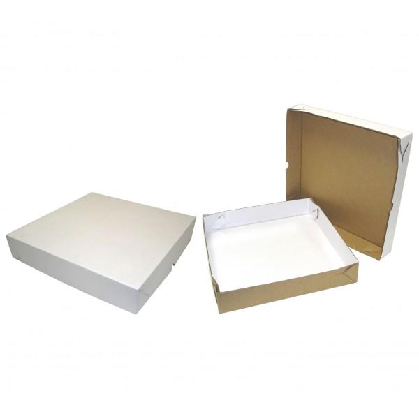 25 Caixas de papelão 30x30x5cm