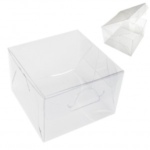 25 Caixas de Acetato 10X10X7 cm