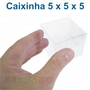 50 Caixas de Acetato 5X5X5 cm
