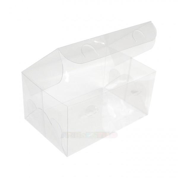 50 Caixas de Acetato 12X8X6 cm