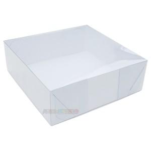 10 Caixas de Acetato 20X20X8 cm com Tampa Transparente