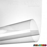 50 Folhas de acetato Transparente - A4 21x30 Cm espessura 0,20 mm