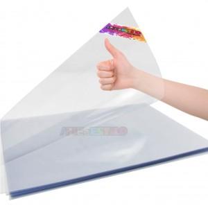 100 Folhas de Pet acetato Transparente A3 - 30x42 Cm espessura 0,20 mm