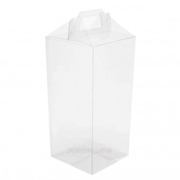 25 Maletinhas de Acetato 10X10X21 cm para embalagem em geral e lembrancinhas