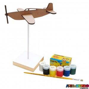 Kit de Pintura Aviãozinho no pedestal