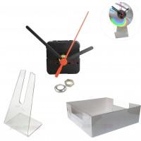 10 Kits para Relógios de cd c/ suporte universal + Caixa para embalagem