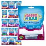 Kit c/ 20 Massas de Modelar EVA Foamy Make Mais para Artesanato e Slime 50g