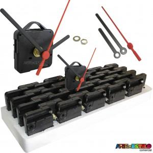 20 Máquinas de relogio Continuas eixo 13 (5,5 mm de rosca) Com alça