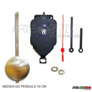 Máquina de pêndulo Dourado eixo 19 - 01 unidade
