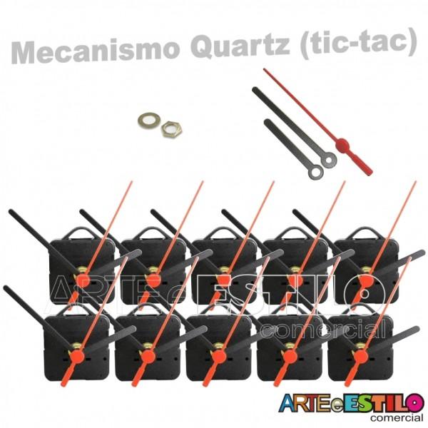 10 Maquinas de relogio Quartz