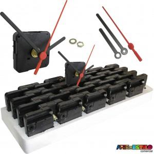 20 Máquinas de relogio Continua eixo 13 (5,5 mm de rosca) Sem alça
