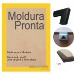 10 Molduras Prontas A4 - 21x30 Amarela