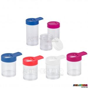 10 Potes / Frascos 50 ml com Tampa Deslizante - Só R$0,89 cada !!!