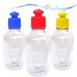 100 Squeezes 300 ml c/ tampa Push Pull - 17 Cores sortidas a escolher