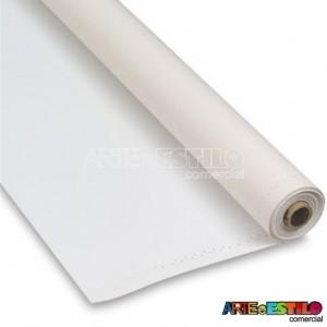 Rolo com 10 metros X largura 82 cm de Tecido para Tela de Pintura Algodão Pronto Para Uso