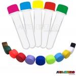 100 Tubetes com tampa, preformas, tubo de ensaio 13cm só R$0,42 cada